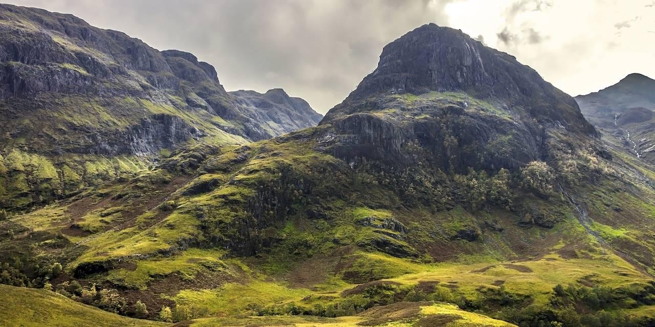 Vallée de Glencoe - Highlands - Écosse -