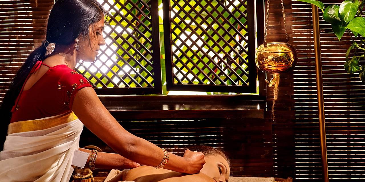 Soin ayurvédique dans le Kérala - Inde