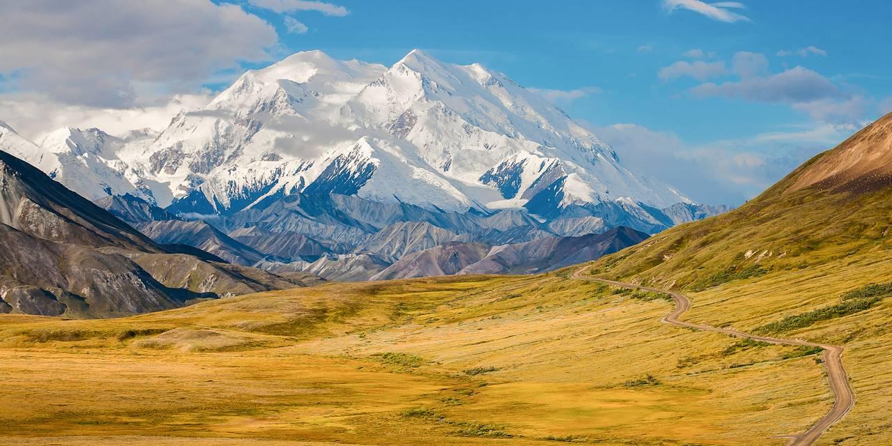 Parc national et réserve de Denali - Alaska - Etats-Unis