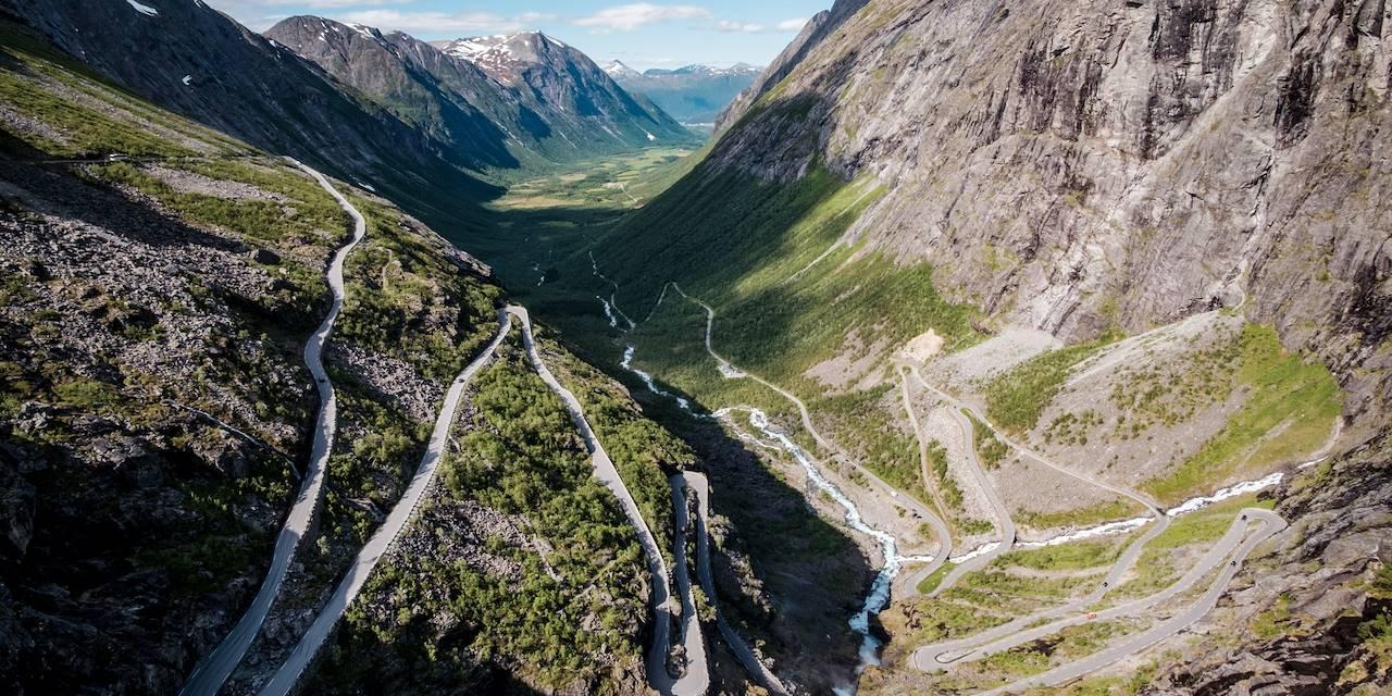 La Route des Trolls, ou Trollstigen - Norvège
