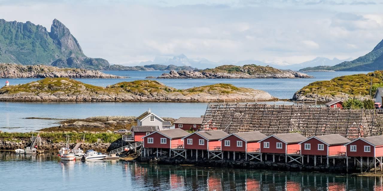 Svinoya Rorbuer - Svolvaer - Îles Lofoten - Norvège