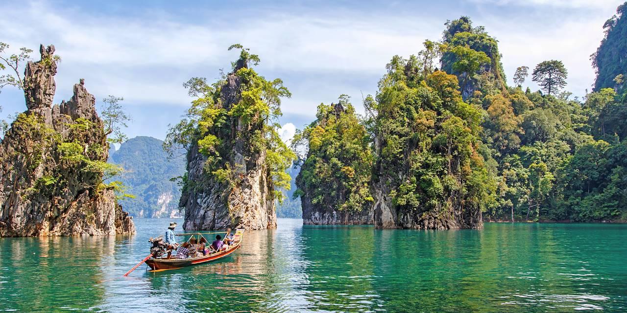 Au fil du Lac Chiew Larn - Khao Sok - Thaïlande