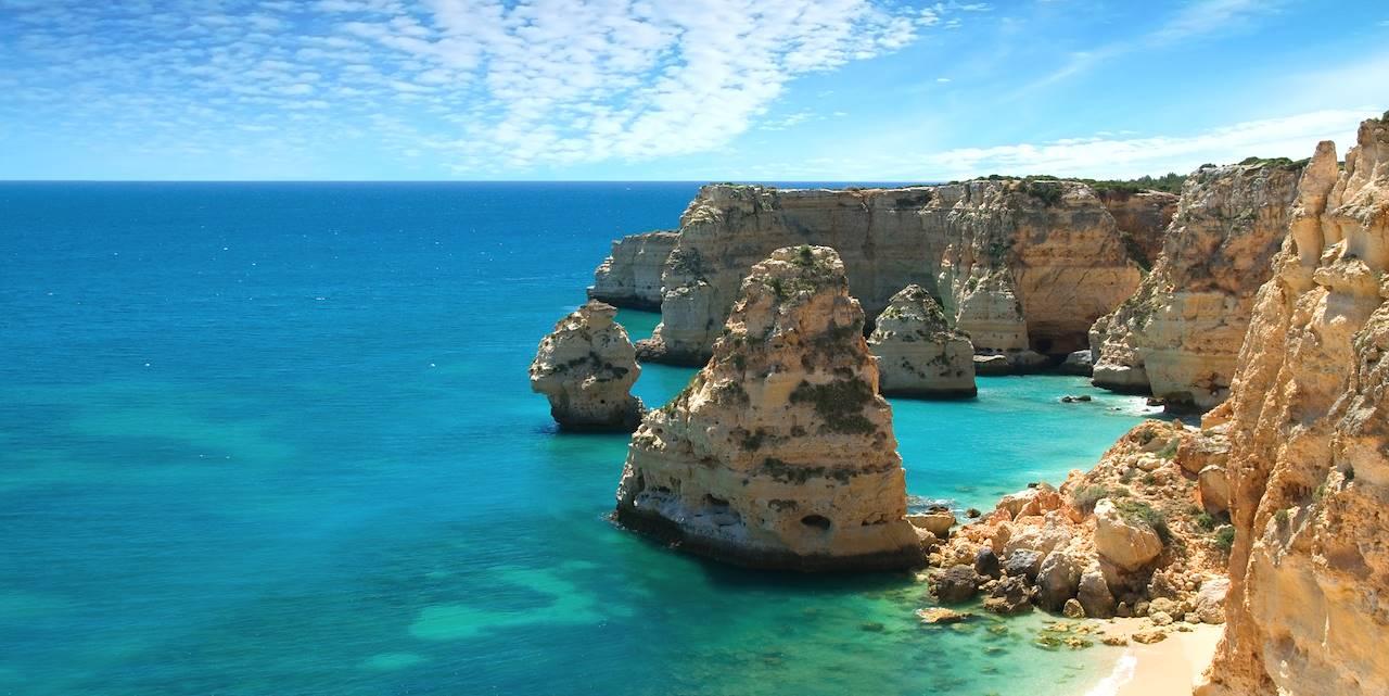 Praia da Marinha - Lagoa - Portugal