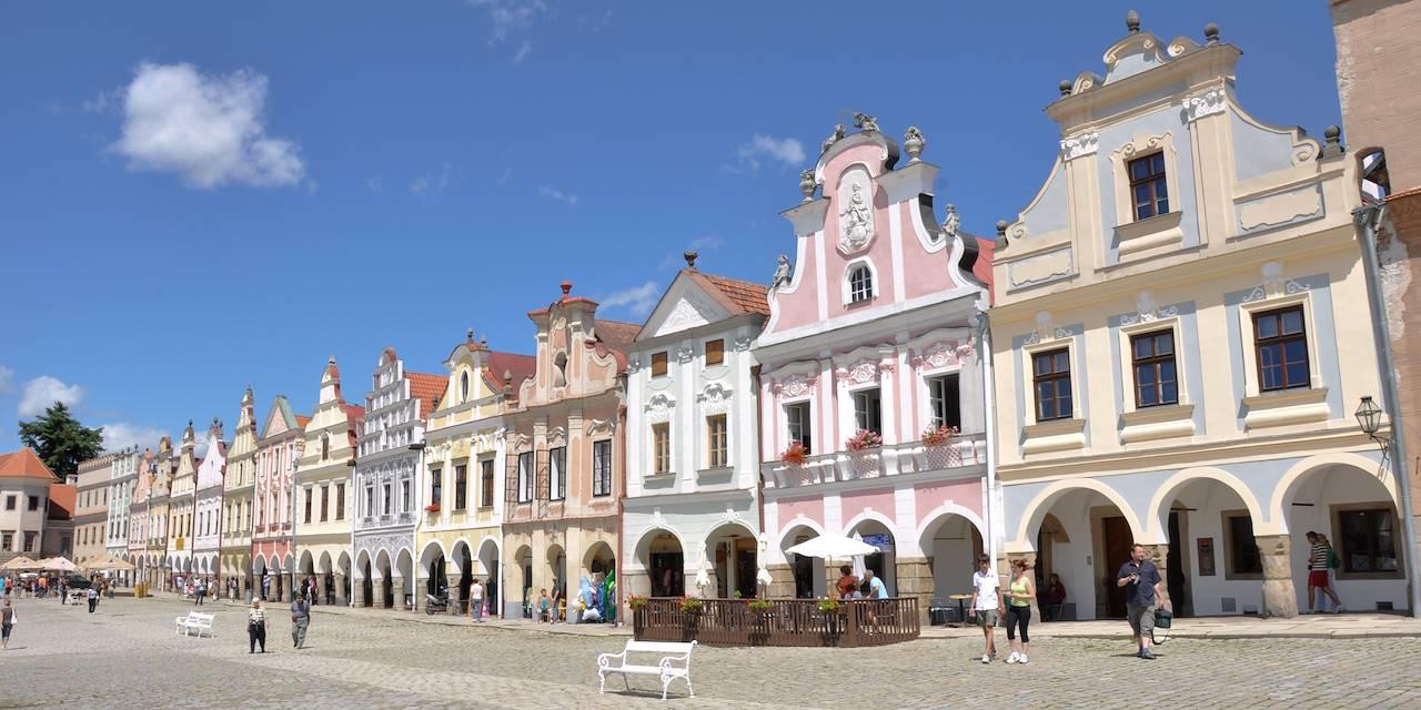 Telc - Région de Vysocina - République tchèque