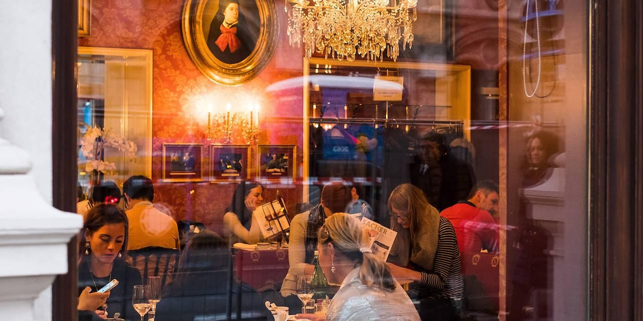 Goûter au Café Sacher - Vienne - Autriche