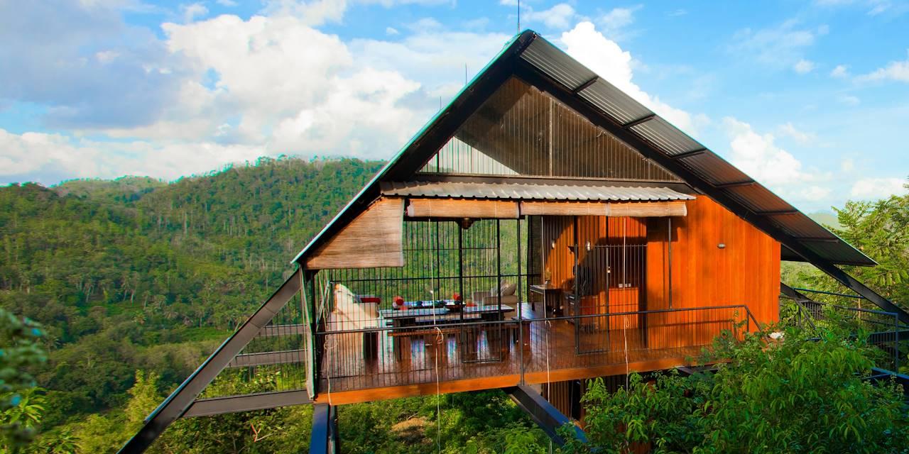 Hébergement à Sinharaja Forest Reserve - Sri Lanka