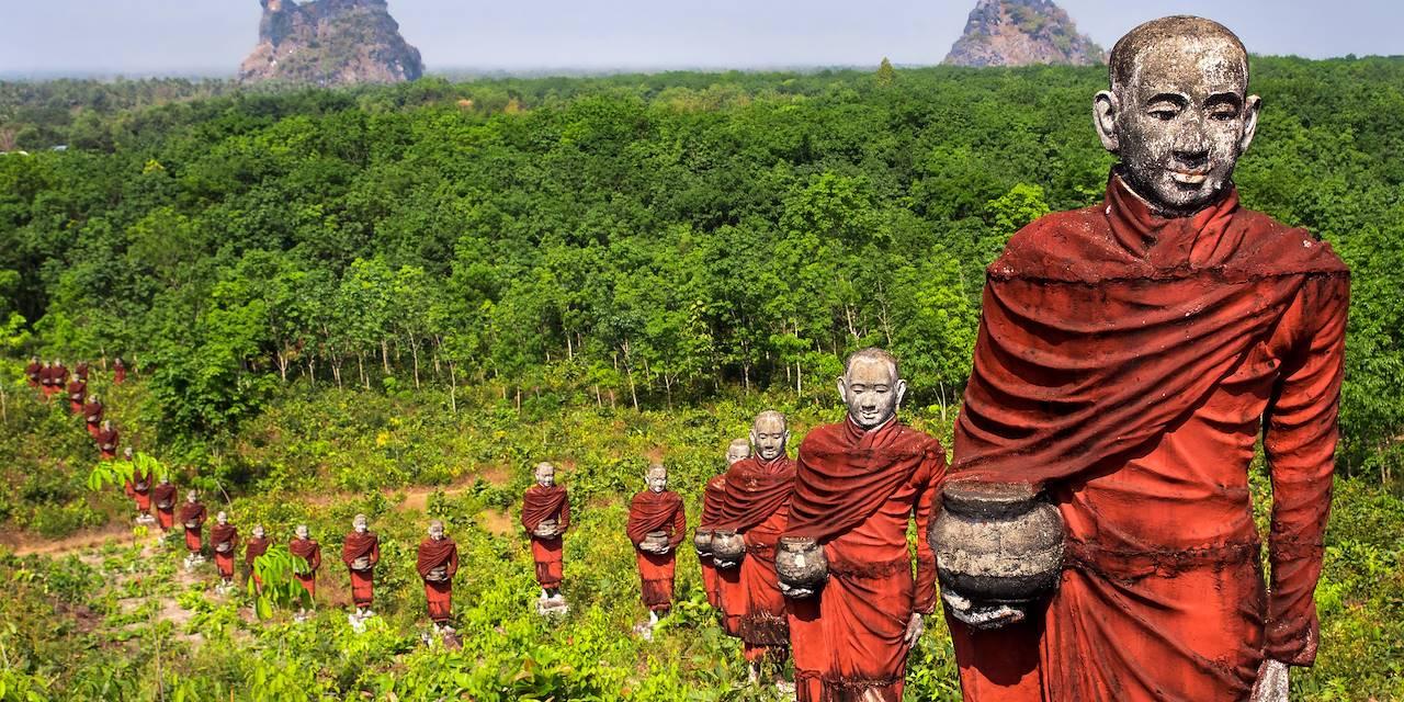 Vallée des monks - Moulmein - Birmanie - Asie