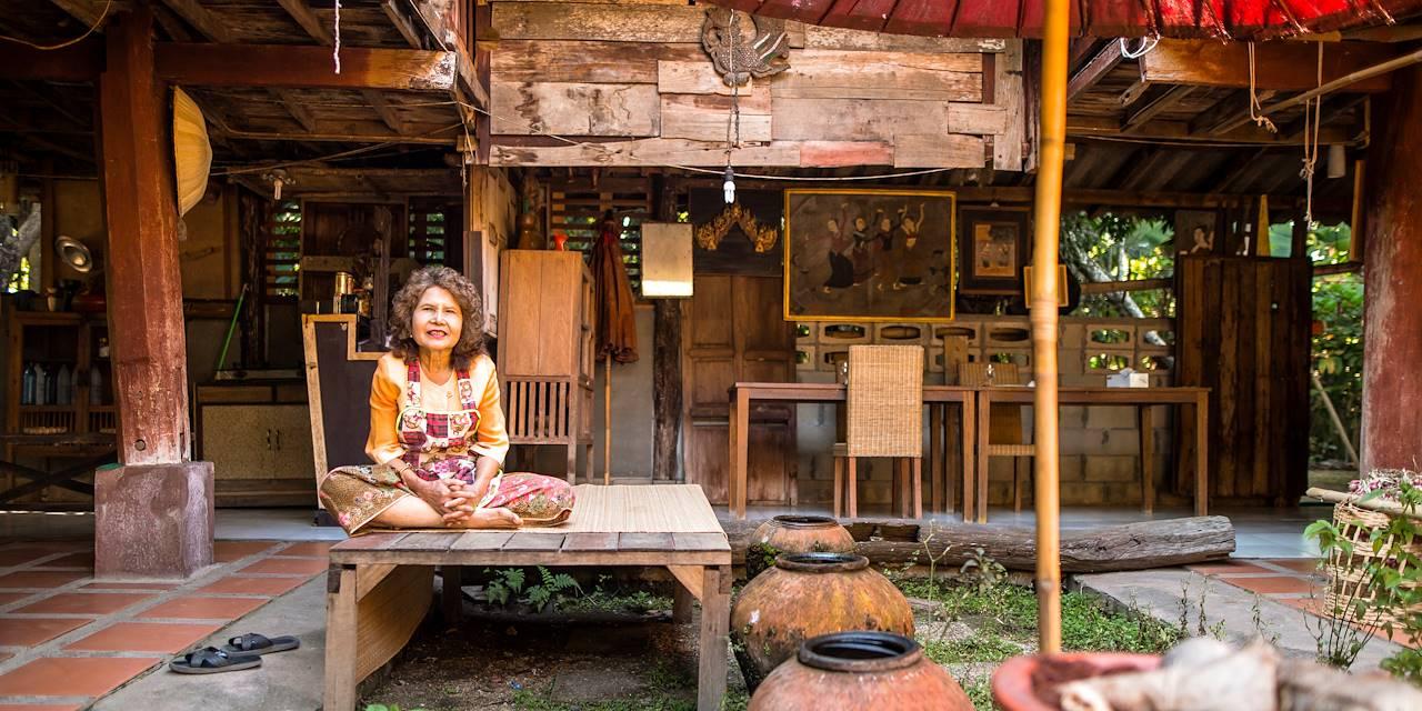 Cours de cuisine chez l'habitant : accueil dans la famille thaïlandaise - Chiang Mai - Thaïlande