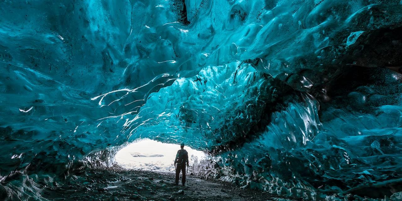 Grotte glaciaire de Katla - Vik - Islande