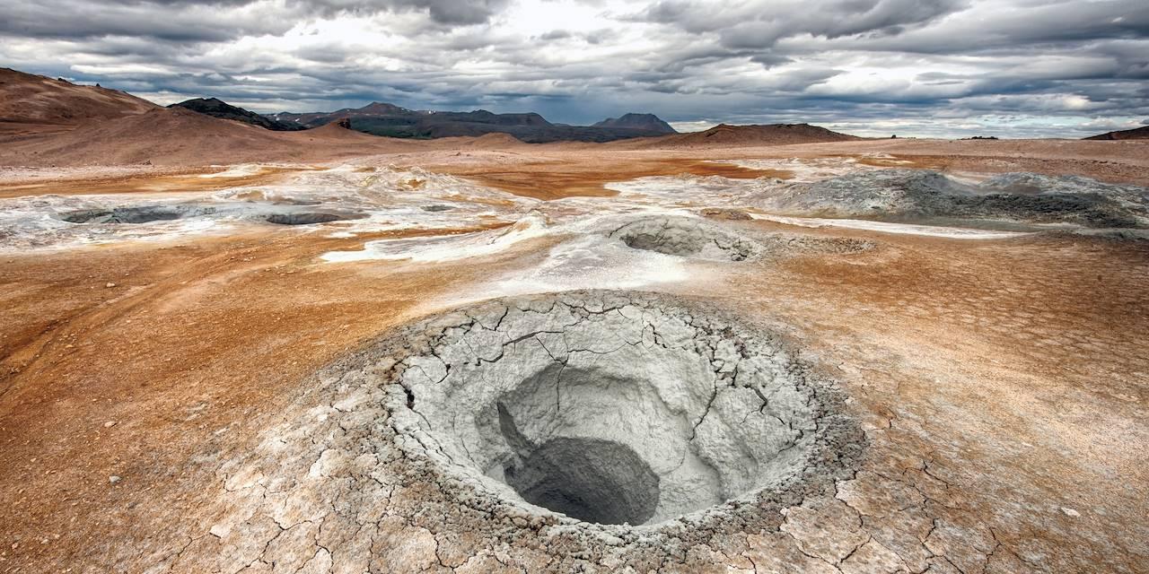 Mare de boue - Islande