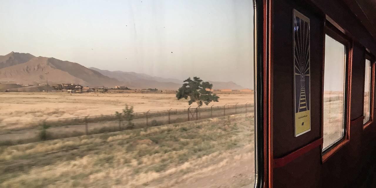 Dans un train de nuit - Iran