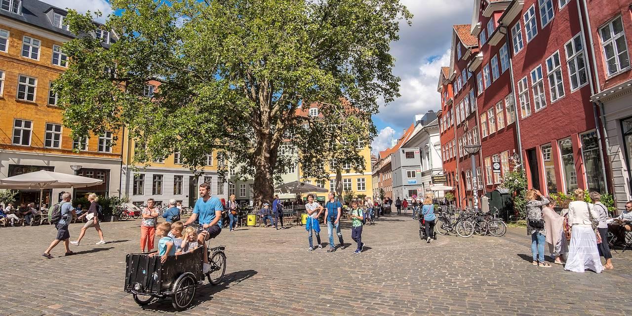 Le quartier de Strøget à Copenhague - Danemark