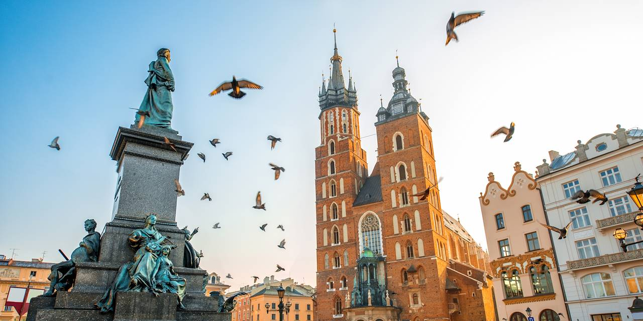 Basilique Sainte-Marie de Cracovie - Cracovie - Pologne