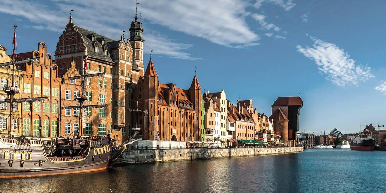 Port de Gdansk - voïvodie de Poméranie - Pologne