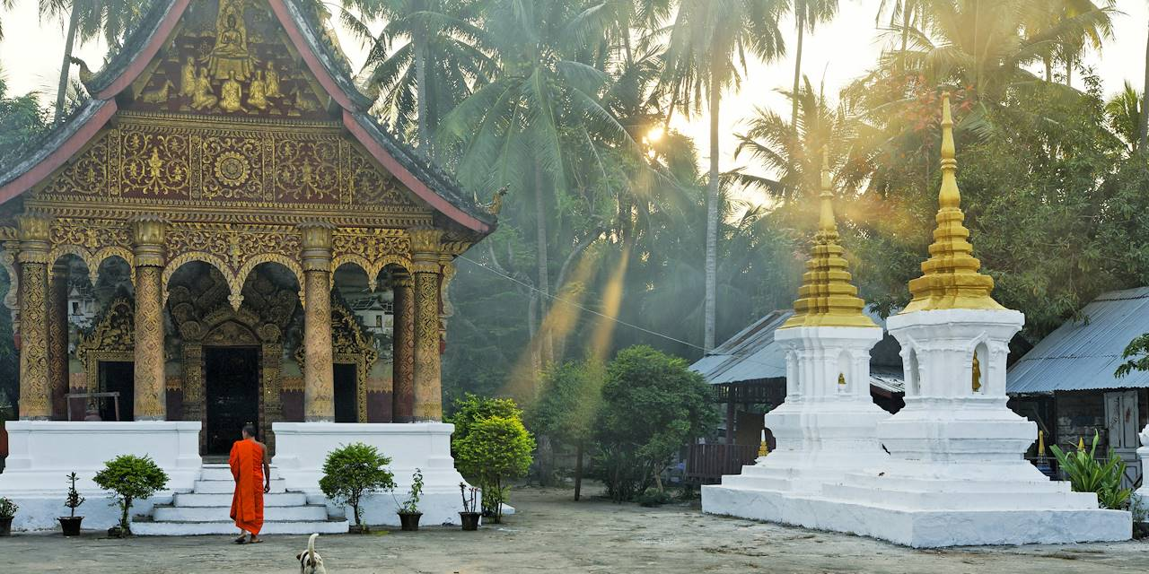 Temple Vat Pha Phay - Luang Prabang - Laos