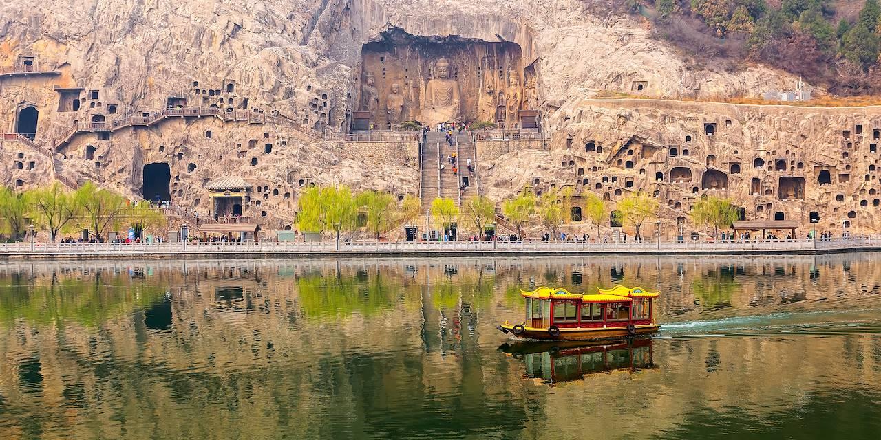Grottes de Longmen - Luoyang - Province du Henan - Chine