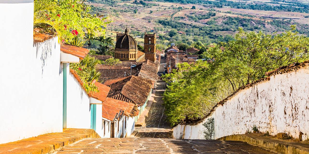Cathédrale de la Inmaculada Concepcion à Barichara - département de Santander - Colombie