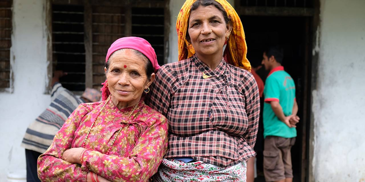 Ghachok - District de Kaski - Népal