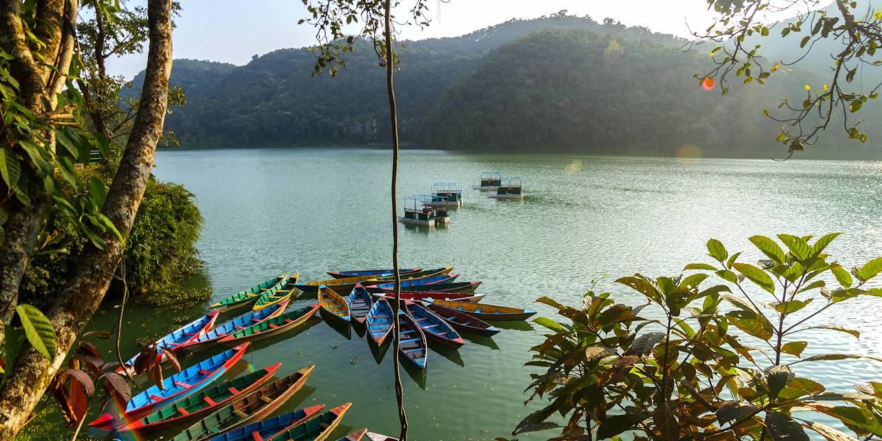 Lac Phewa - Pokhara - Népal