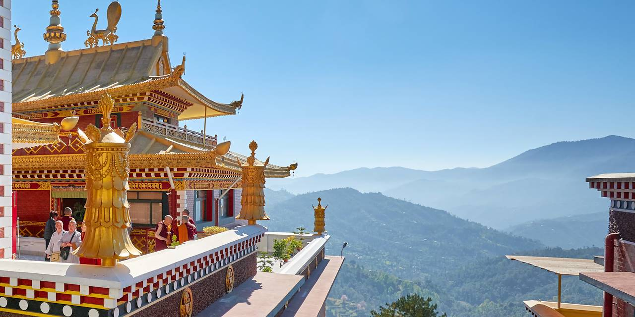 Monastère de Namo Bouddha - Népal