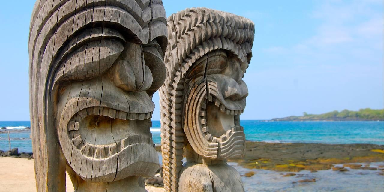 Tikis - Big Island - Hawaï