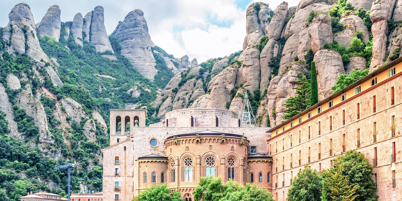 549090 - L'abbaye Santa Maria de Montserrat - Province de Barcelone - Espagne