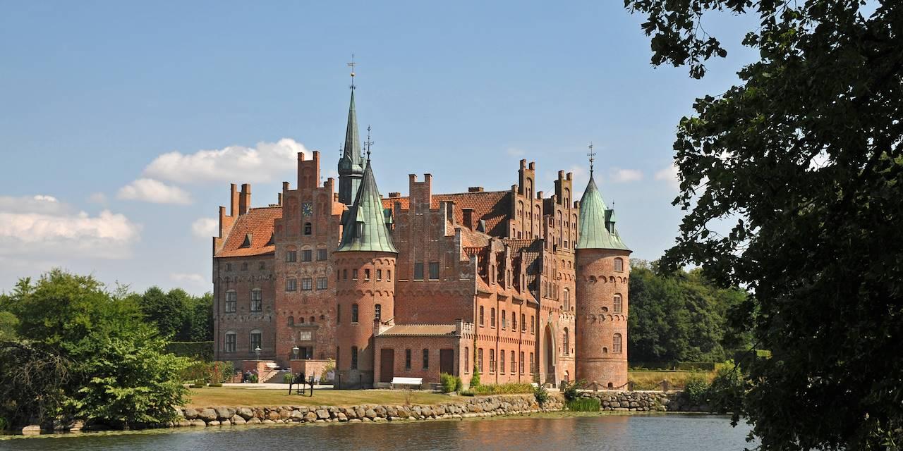 Château d'Egeskov - Île de Fionie - Danemark