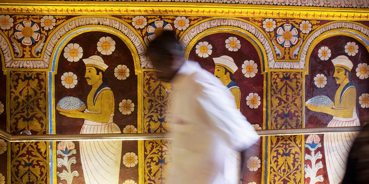 Temple de la Dent - Kandy - Centre - Sri Lanka