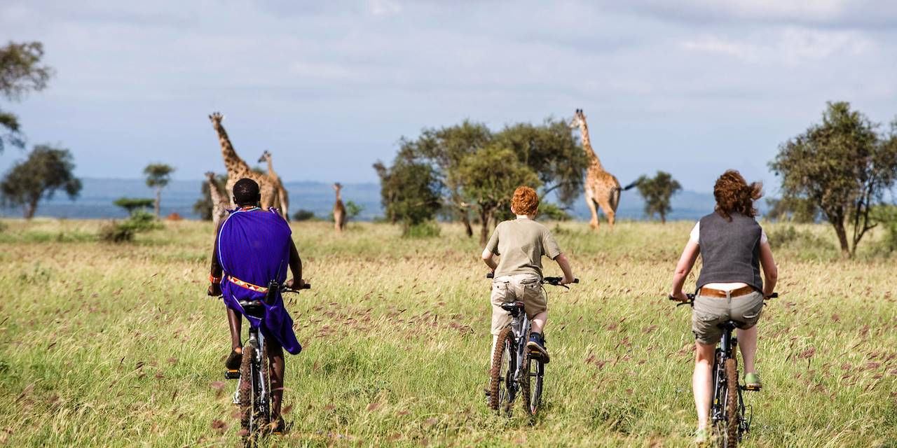 Safari à vélo au Kenya