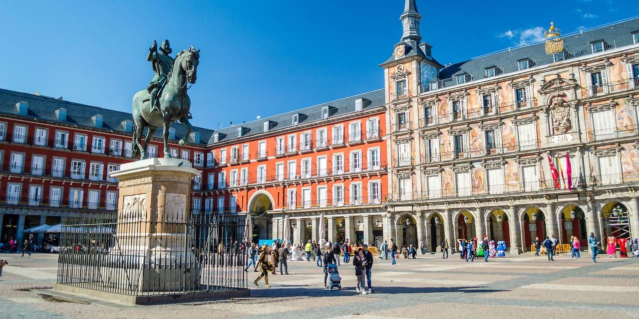 Plaza Mayor - Madrid - Espagne