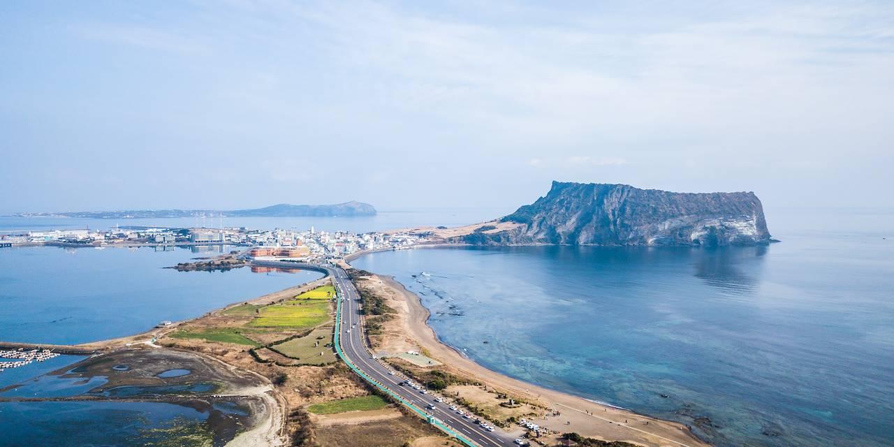 Seongsan Ilchulbong - Ile de Jeju - Corée du Sud