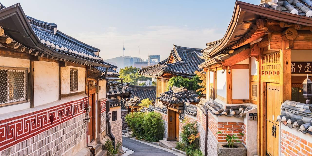 Village de Bukchon Hanok à Séoul - Corée du Sud