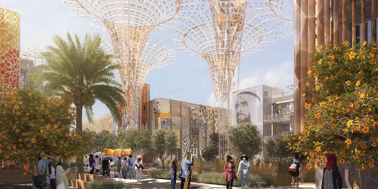 Exposition universelle de 2020 à Dubai - Emirats Arabes Unis