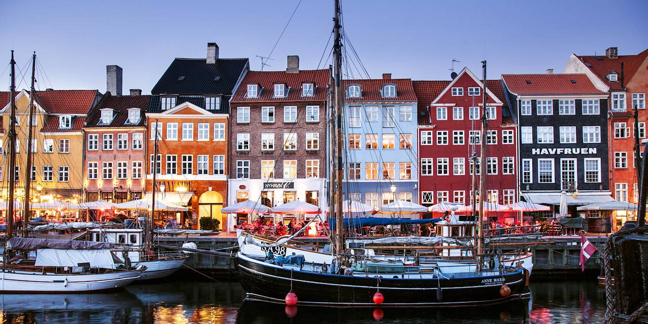 Nyhavn - Copenhague - Danemark