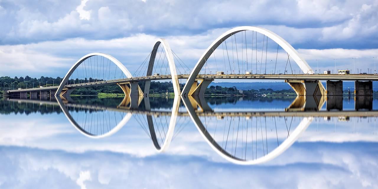 Pont Juscelino Kubitschek à Brasilia - Brésil