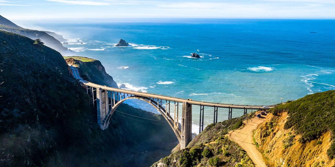 Route panoramique nationale - Big Sur -Californie - Etats-Unis