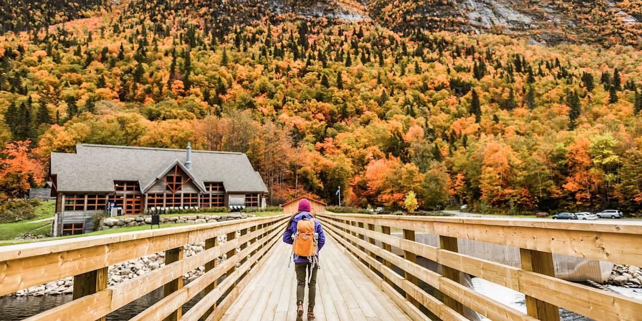 Parc national des Hautes-Gorges-de-la-Rivière-Malbaie - Canada