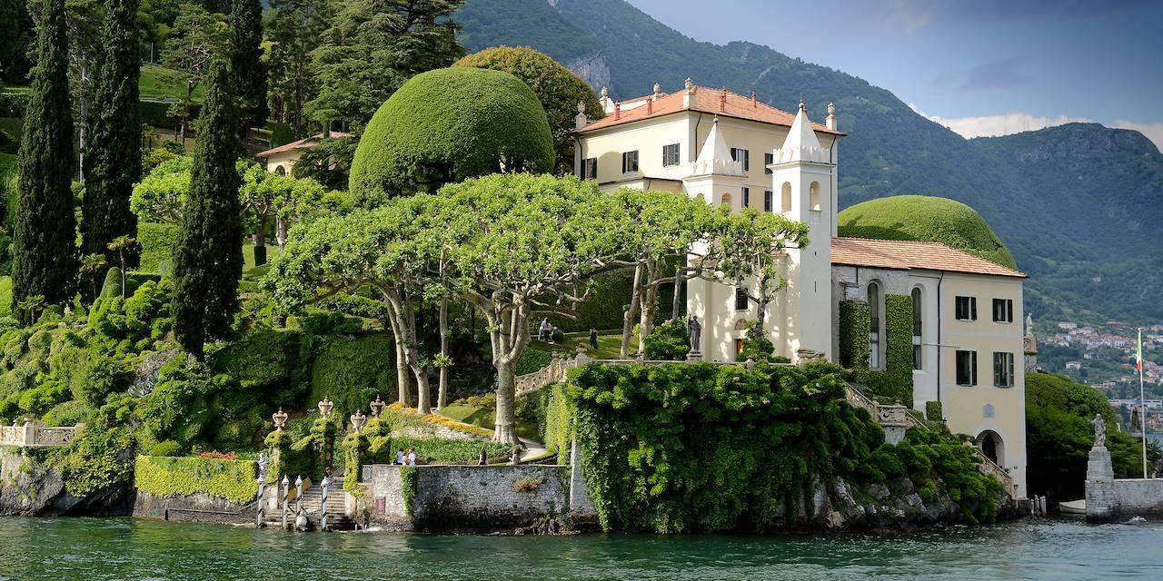 La villa Balbianello et ses jardins - Lac de Côme - Lenno - Italie