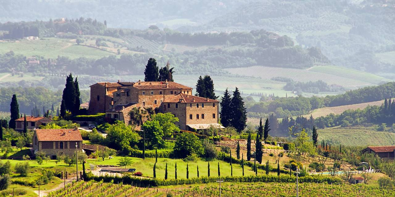 Paysage de Toscane - Italie