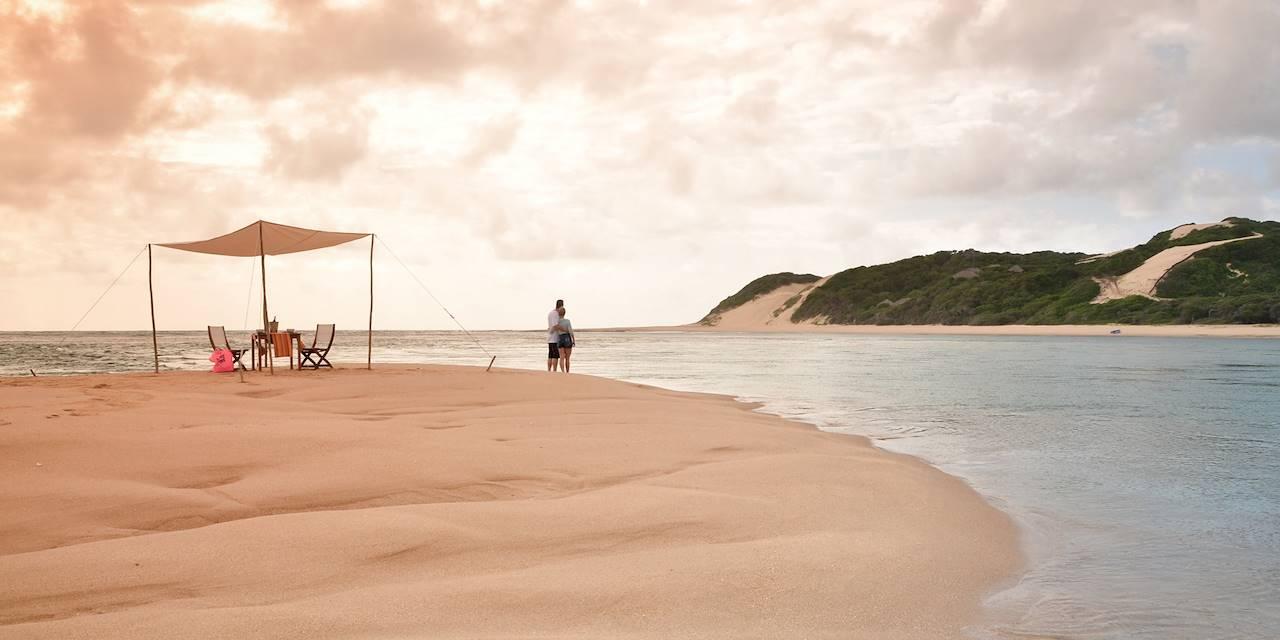 Coucher de soleil sur la plage - Péninsule de Santa Maria - Mozambique