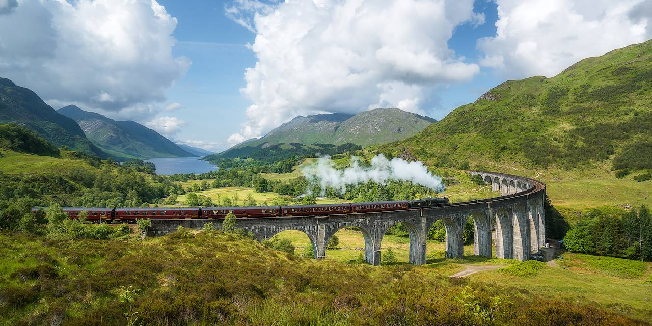 Jacobite Steam Train - Ecosse - Royaume-Uni
