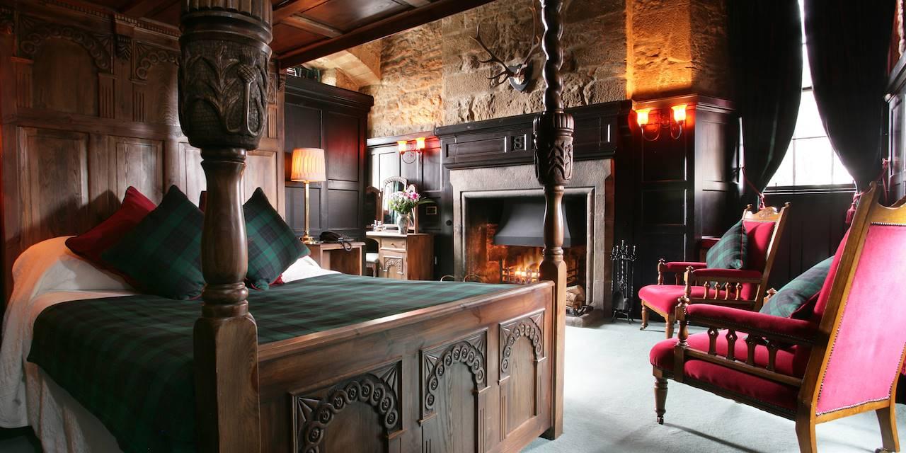 Dormez dans un château écossais