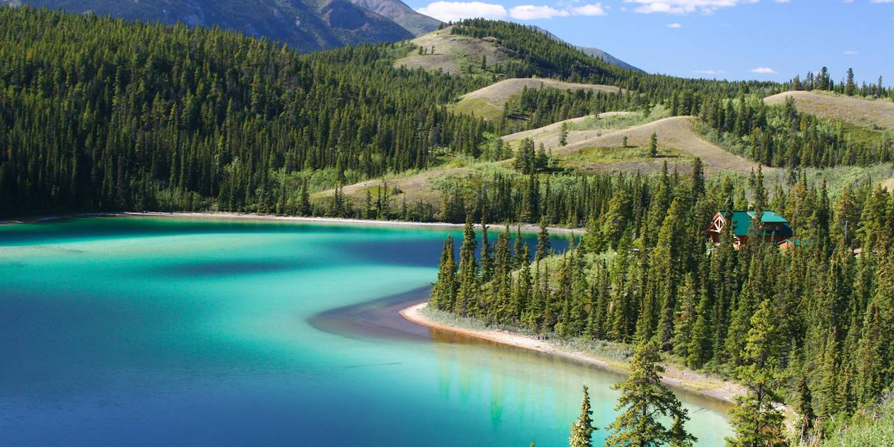 Lac Émeraude - Yukon - Canada