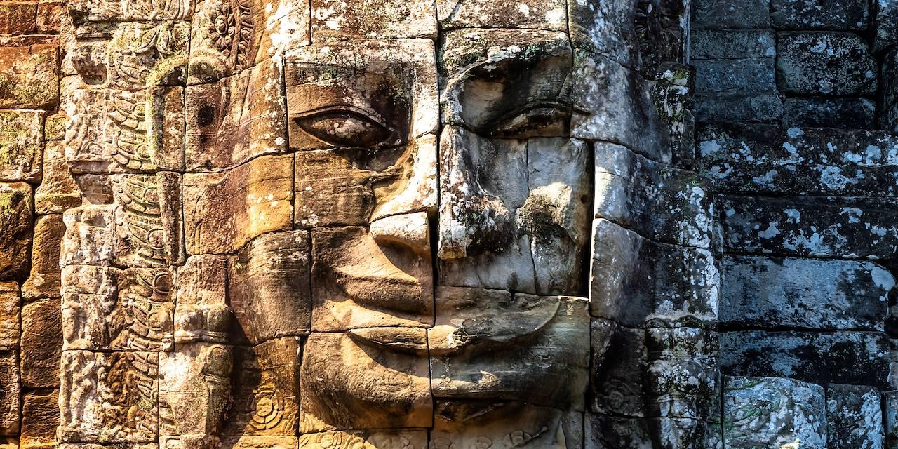 Temple Bayon - Angkor Thom - Cambodge