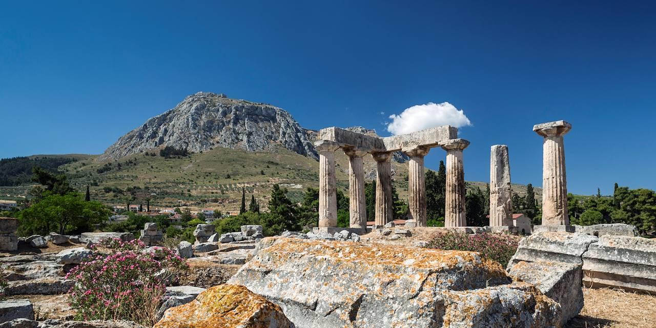 Temple d'Apollon - Corinthe - Péloponnèse