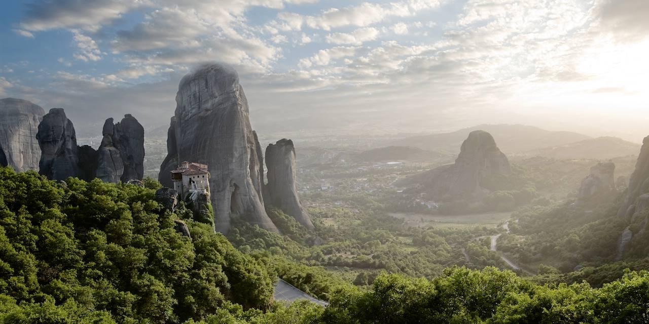 Les monastères des Météores - Grèce