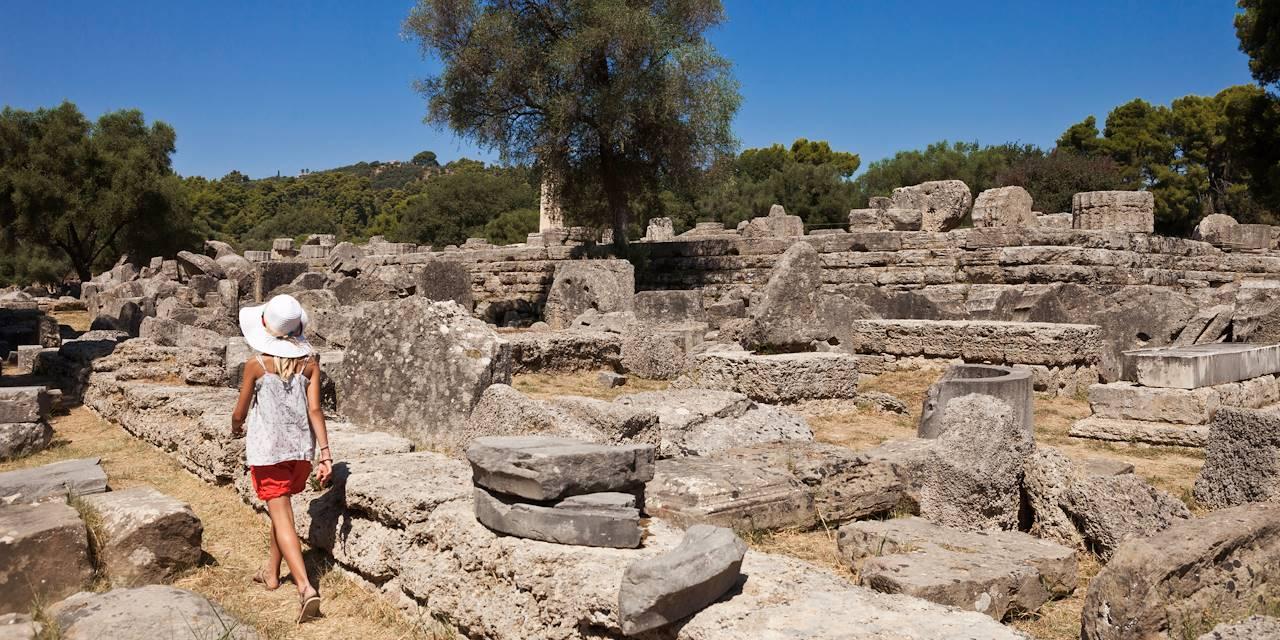 Site archéologique d'Olympie - Péloponnèse - Grèce